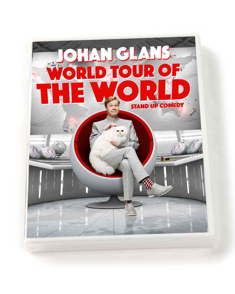DVD WORLD TOUR OF THE WORLD
